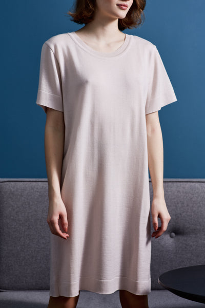 Porcelain T-shirt Dress