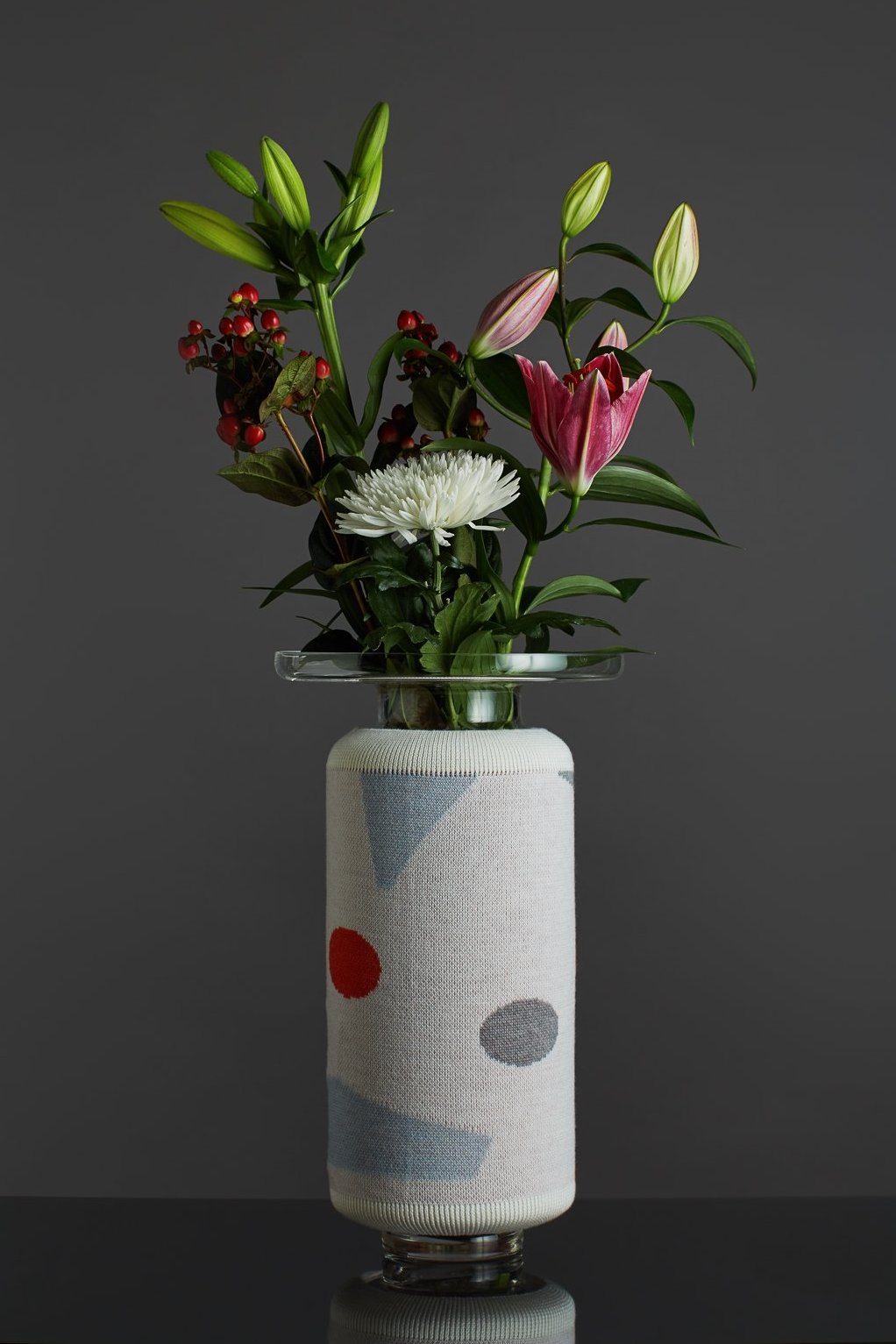 Knitted Vase Shapes