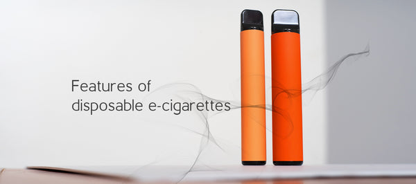 Features of disposable e-cigarettes