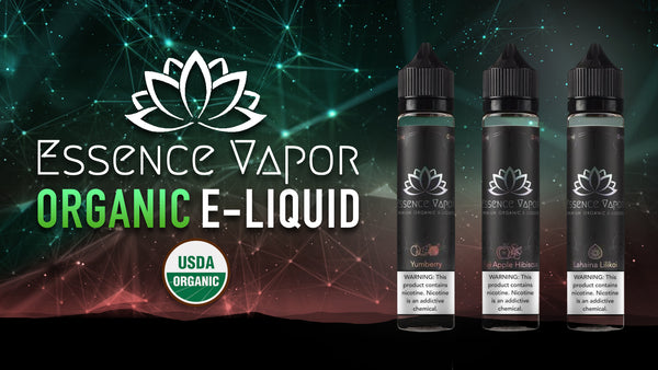 Organic Eliquid Review Essence Vapor's All Natural Nicotine Solution