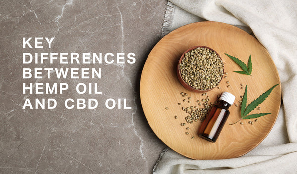 Hemp Oil vs CBD Oil
