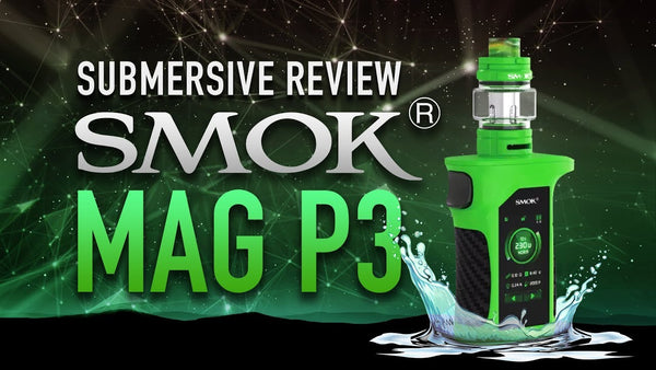 New waterproof SMOK MAG P3 review