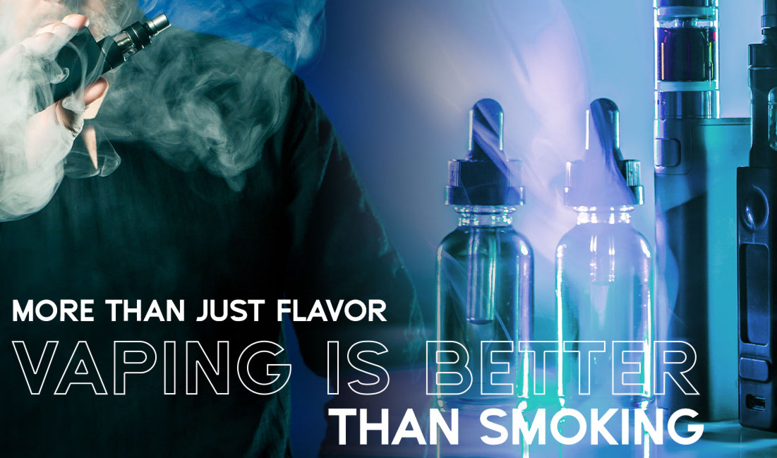 More than Just Flavor, Vaping is Better than Smoking