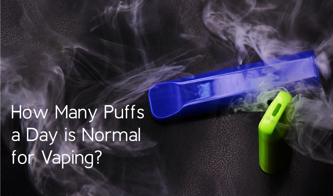 How Many Puffs a Day is Normal for Vaping
