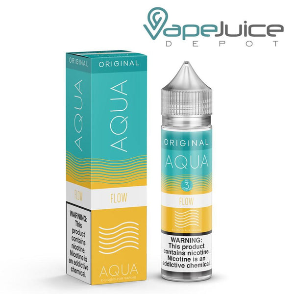 AQUA Flow e Liquid from Marina Vape - Vape Juice Depot