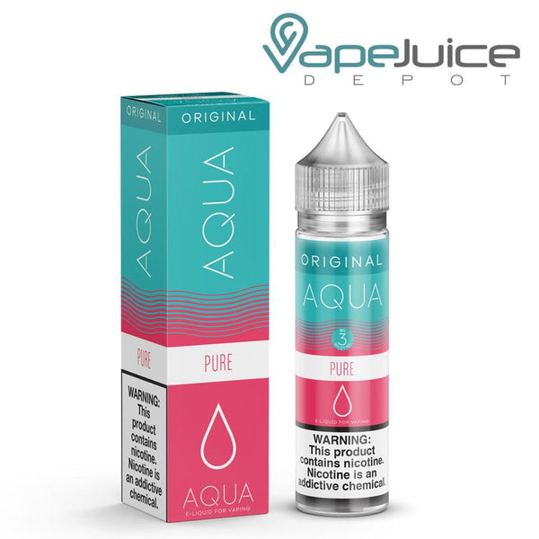 AQUA Pure e Liquid Original Line by Marina Vape - FREE Shipping