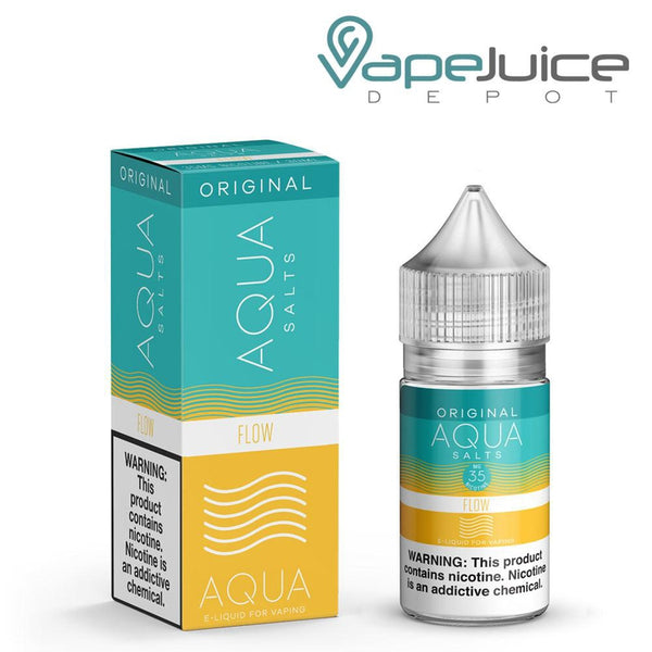 AQUA Salts Original FLOW eLiquid 30ml- VapeJuiceDepot