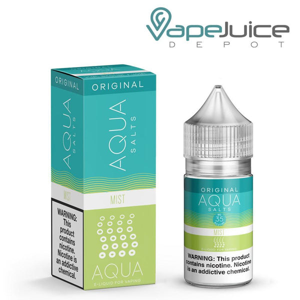 AQUA Salts Original MIST eLiquid 30ml- VapeJuiceDepot