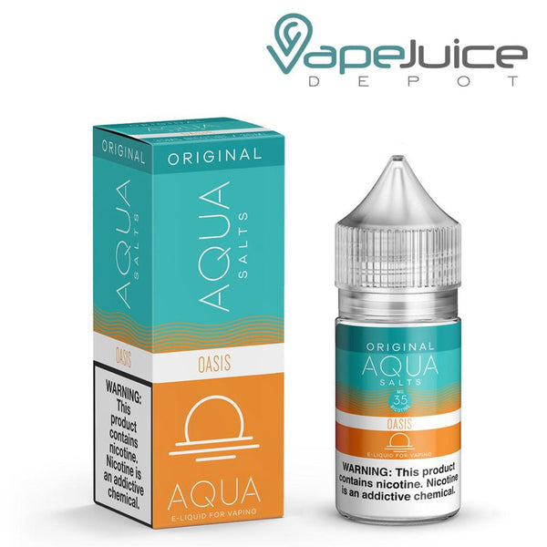 AQUA Salts Original OASIS eLiquid 30ml- VapeJuiceDepot