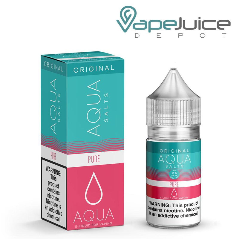 AQUA Salts Original PURE eLiquid 30ml- VapeJuiceDepot