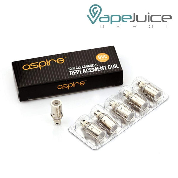 Aspire BVC CE5 ETS K1 Spryte Replacement Coils - VapeJuiceDepot