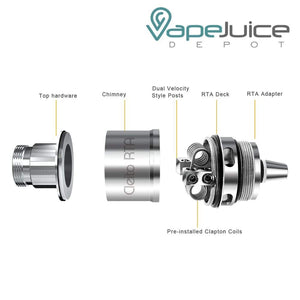 Aspire Cleito RTA System Coil, RTA Coils, Aspire, - Vape Juice Depot