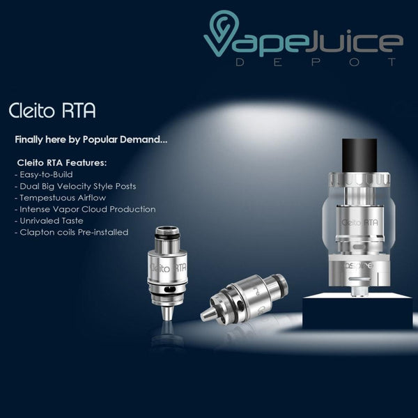 Aspire Cleito RTA System Coil - VapeJuiceDepot