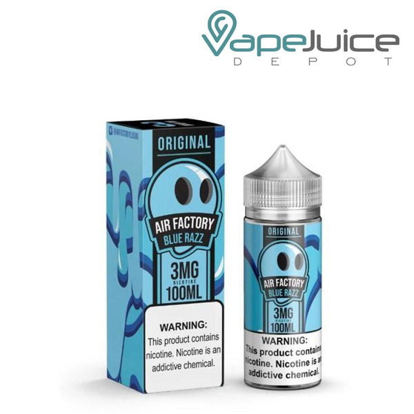 Air Factory Blue Razz Ice 60ml - Vape Juice Depot