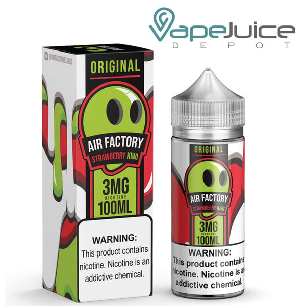 Air Factory Strawberry Kiwi e-Liquid 60ml - Vape Juice Depot