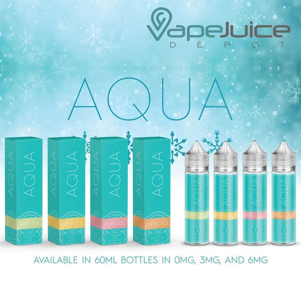 AQUA Ice Pure e-Liquid by Marina Vape 60ml