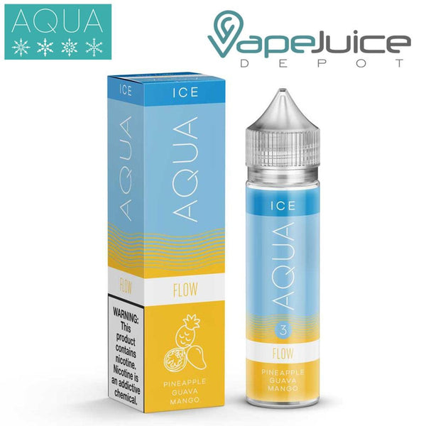 AQUA Ice Flow e-Liquid by Marina Vape 60ml - VapeJuiceDepot
