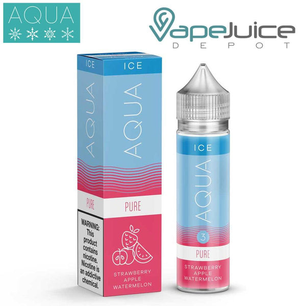AQUA Ice Pure e-Liquid by Marina Vape 60ml - VapeJuiceDepot