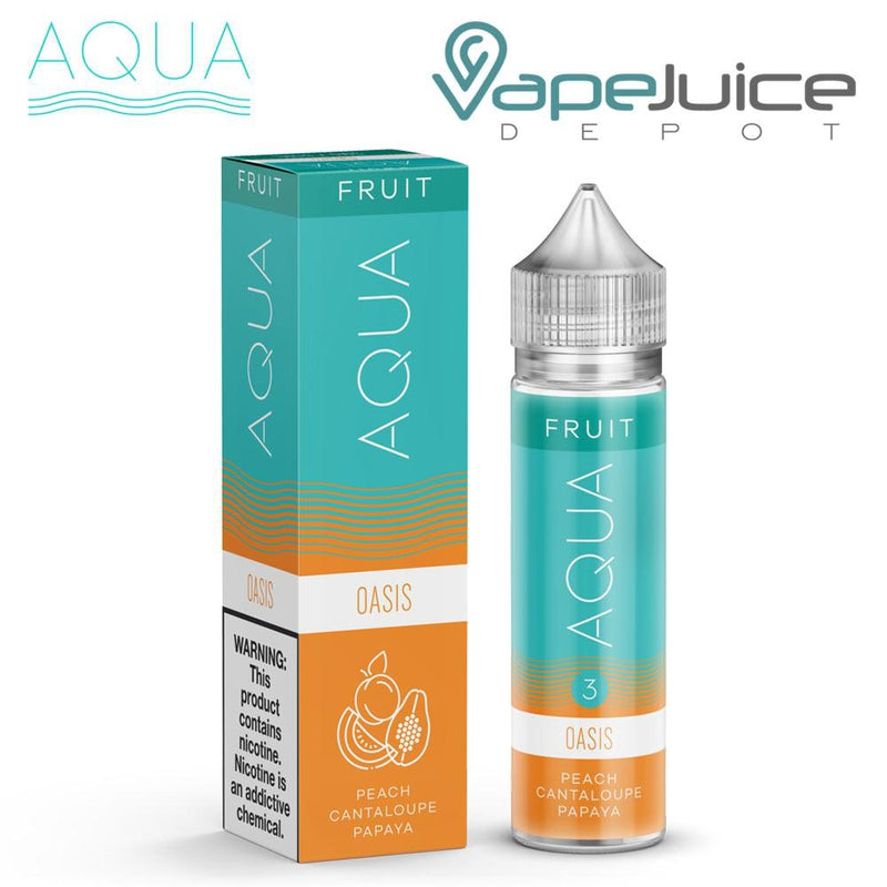 AQUA Oasis Fruit eLiquid by Marina Vape 60ml - VapeJuiceDepot