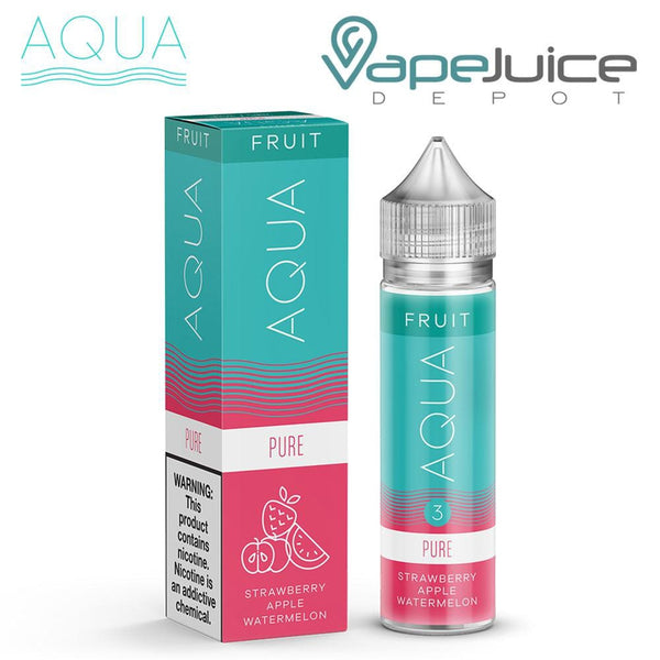 AQUA Pure Fruit eLiquid by Marina Vape 60ml - VapeJuiceDepot