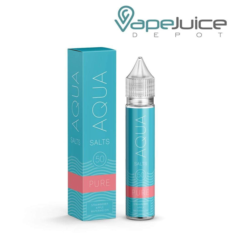 AQUA Salts PURE Nicotine Salt e-Liquid 30ml - VapeJuiceDepot
