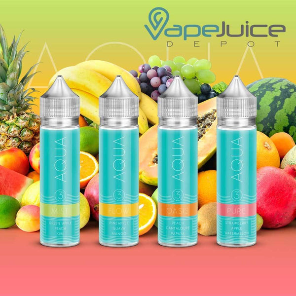 Pure Mist e-liquid Juice by Marina Vape