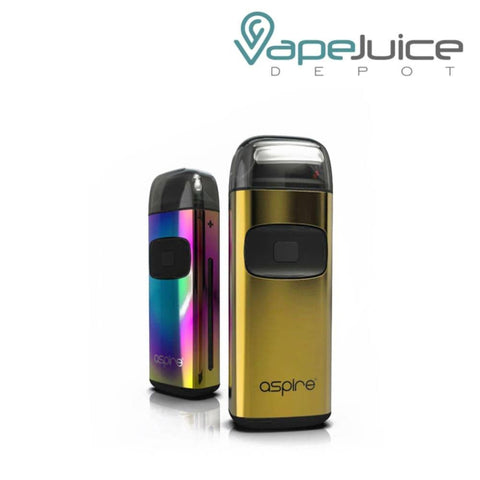 Aspire Breeze Limited Edition Gold Rainbow - VapeJuiceDepot