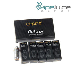 Aspire Cleito 120 Replacement Coil - VapeJuiceDepot