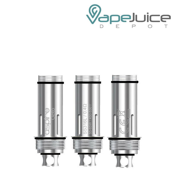 Aspire Cleito SS316L Replacement Coils Pack - Vape Juice Depot