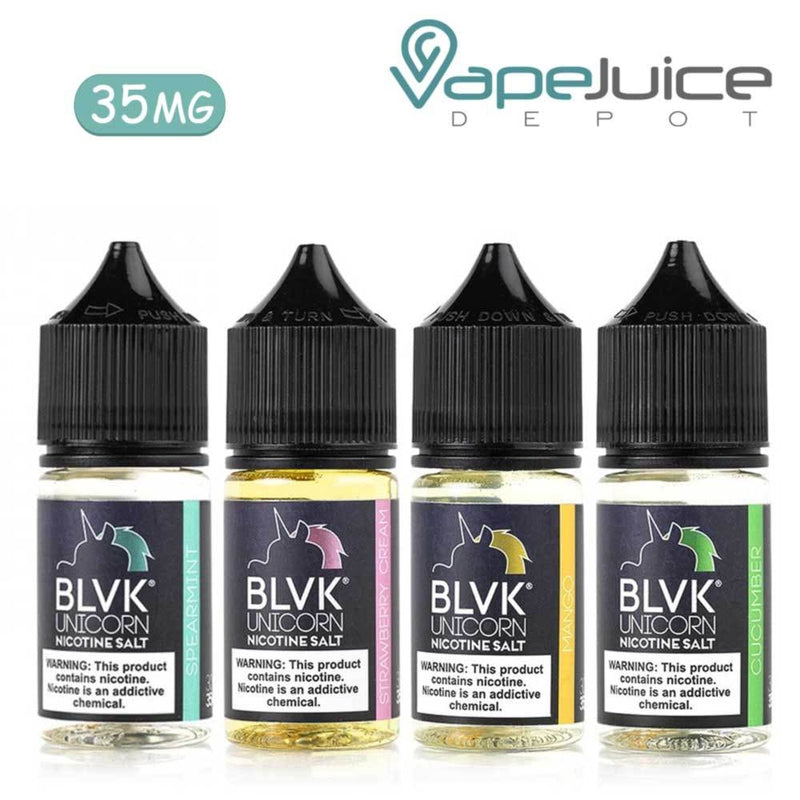 BLVK Unicorn Salt Nicotine Bundle 4x 30ml - VapeJuiceDepot