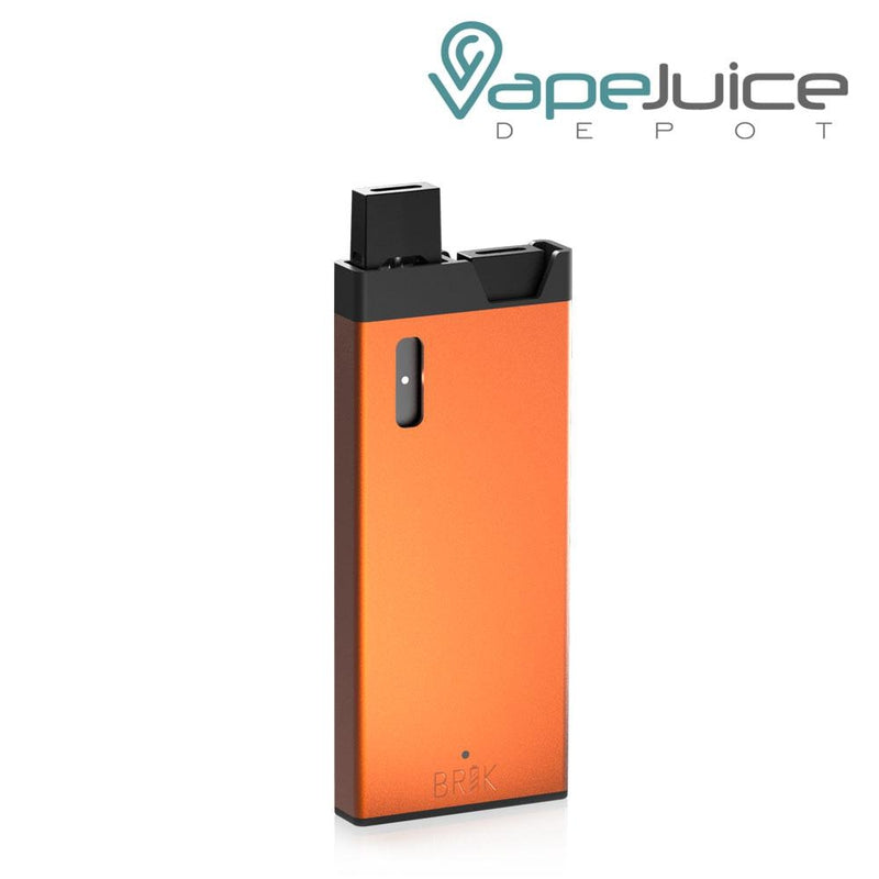 BRIK Charger Case for JUUL Kit Orange - VapeJuiceDepot