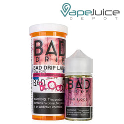Bad Drip Bad Blood eLiquid 60ml - Vape Juice Depot