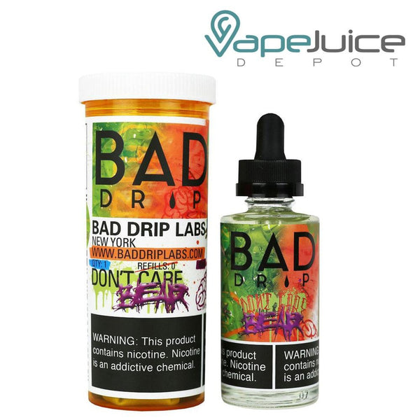 Bad Drip Don't Care Bear eLiquid 60ml - Vape Juice Depot
