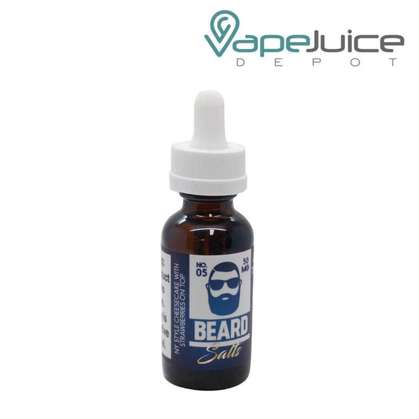 Beard Salts No. 05 Cheesecake Strawberries e-Liquid - VapeJuiceDepot