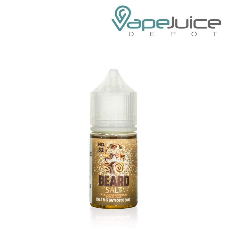 Beard Salts No. 32 Cinnamon Funnel Cake e-Liquid - VapeJuiceDepot