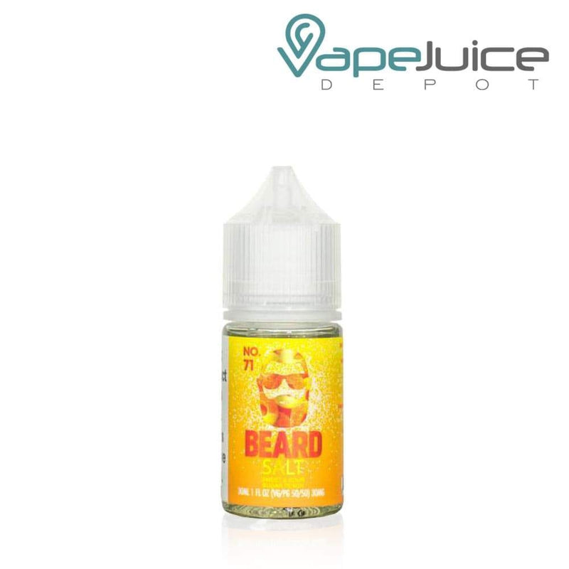 Beard Salts No. 71 Sweet & Sour Sugar Peach e-Liquid - VapeJuiceDepot
