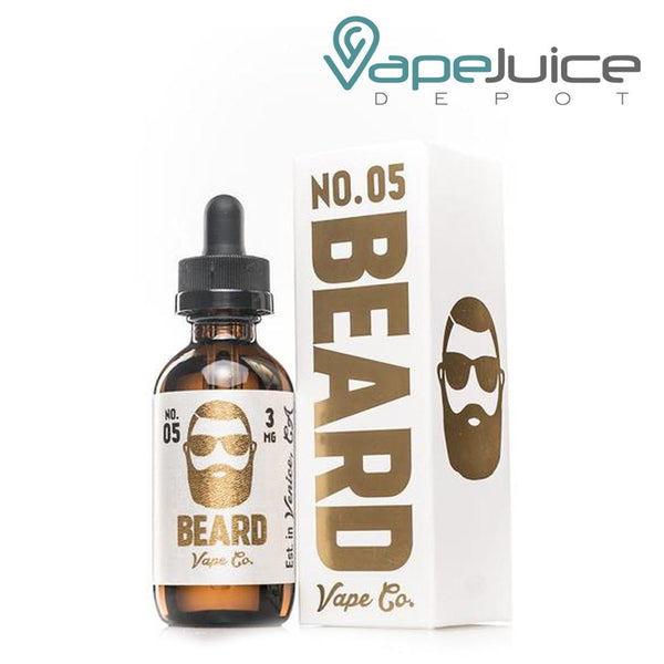 Beard Vape Co No. 05 e-Liquid 60ml - VapeJuiceDepot