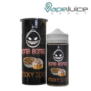 Bomb Bombz Sticky Icky e-Liquid 100ml - Vape Juice Depot