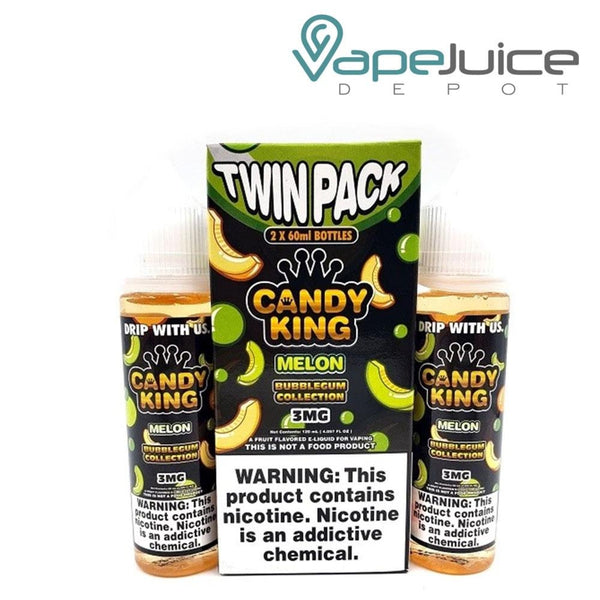 Candy King Bubblegum Melon eLiquid - Vape Juice Depot