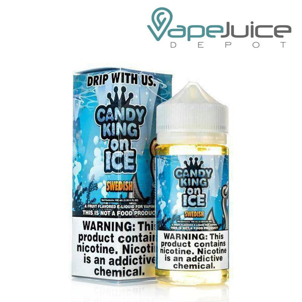 Candy King On Ice Swedish e-Liquid 100ml ❄️ by Drip More - Vape Juice Depot