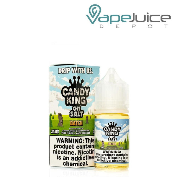 Candy King On Salt Batch e-Liquid 30ml - FREE Shipping