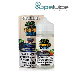 Tropic King Berry Breeze eLiquid 100ml - VapeJuiceDepot