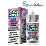 Cloud Nurdz Grape Strawberry e-Liquid 100ml - FREE Shipping