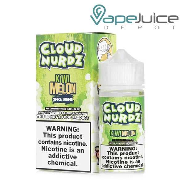 Cloud Nurdz Kiwi Melon eLiquid - Vape Juice Depot