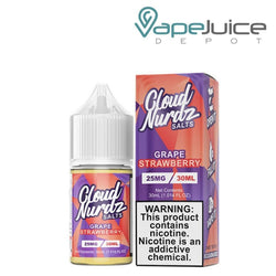 Cloud Nurdz Salts Grape Strawberry - Vape Juice Depot