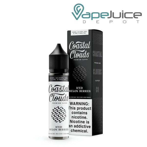 Coastal Clouds ICED Melon Berries eLiquid 60m - Vape Juice Depot