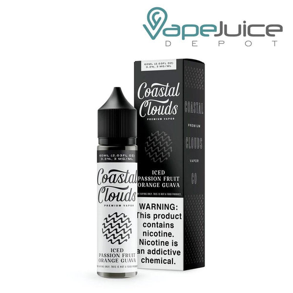 Coastal Clouds ICED Passion Fruit Orange Guava 60ml ❄️ - Vape Juice Depot