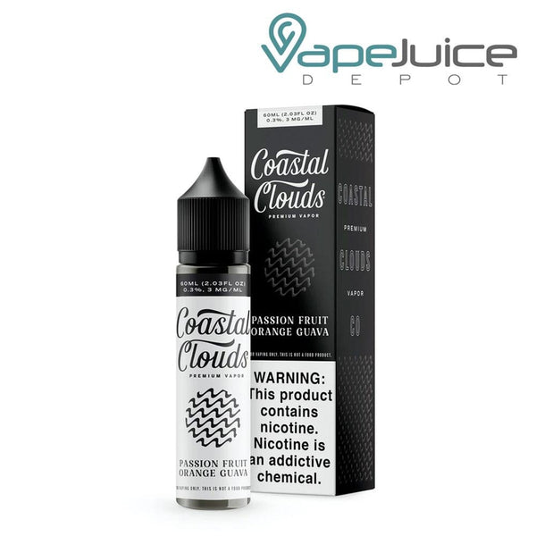Coastal Clouds Passion Fruit Orange Guava 60ml - Vape Juice Depot