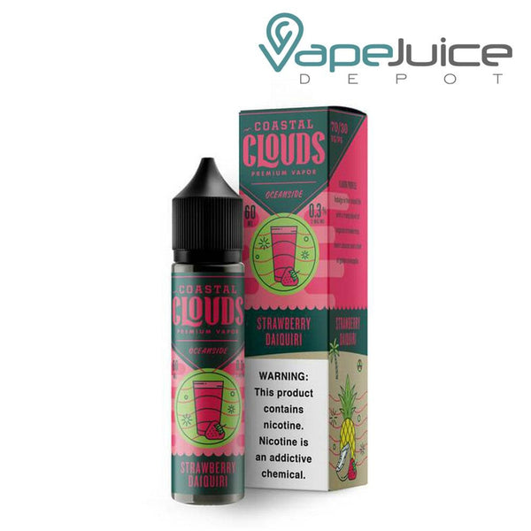 Coastal Clouds Strawberry Daiquiri - VapeJuiceDepot