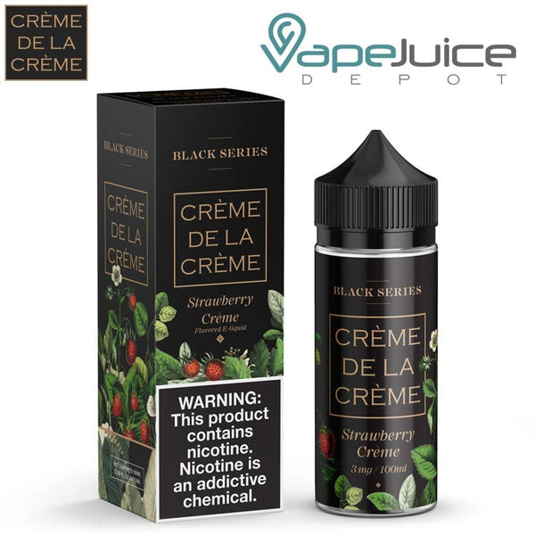 Creme De La Creme Strawberry Creme eLiquid 60/100ml